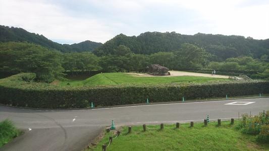 奈良・飛鳥、石舞台古墳