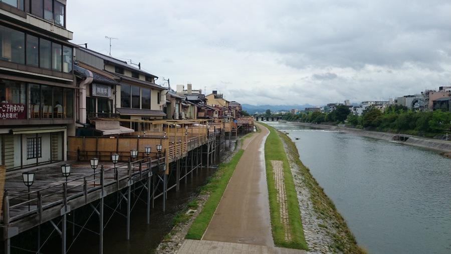 京都市、鴨川